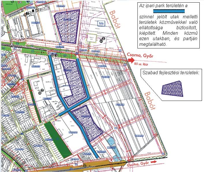 győr ipari park térkép Kapuvár